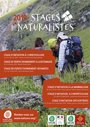Catalogue stages naturalistes 2019